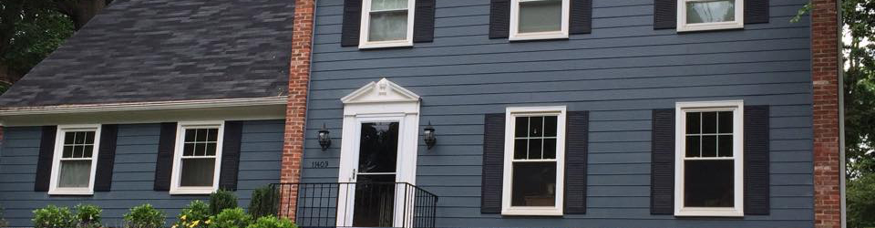 frederick md home with siding