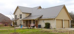 metal roofing on md home