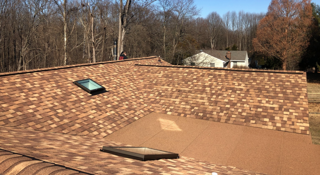 shake roof installation